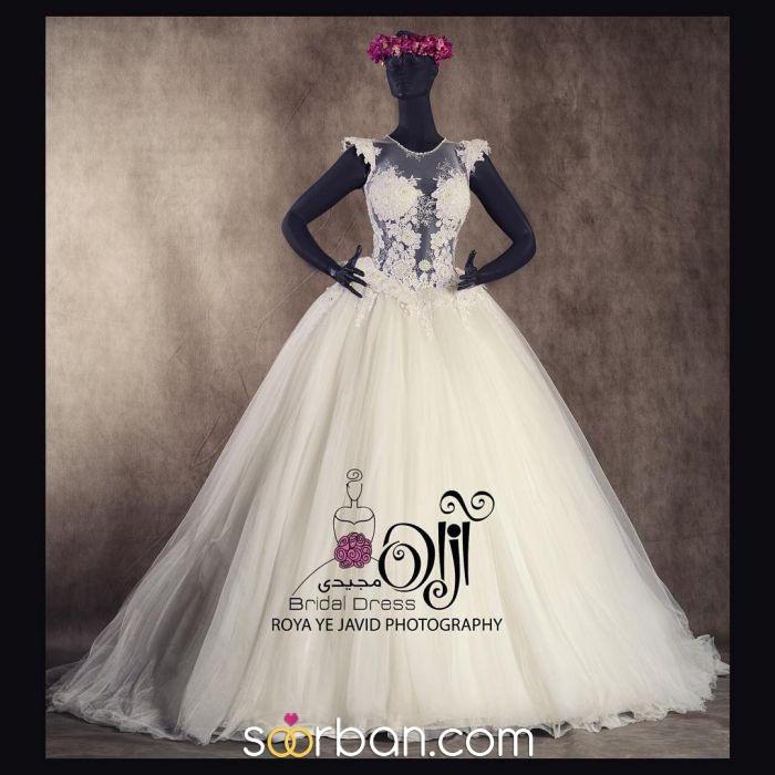 مزون لباس عروس آزاده مجیدی اصفهان1