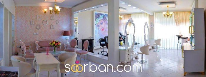 سالن زیبایی مليکا و مریم زینلي، میکاپ و شینیون عروس اصفهان4