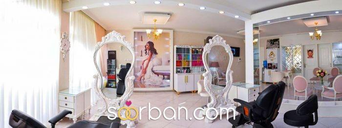 سالن زیبایی مليکا و مریم زینلي، میکاپ و شینیون عروس اصفهان3