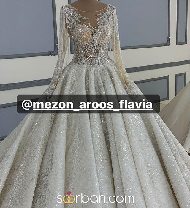 مزون لباس عروس فلاويا تهران0