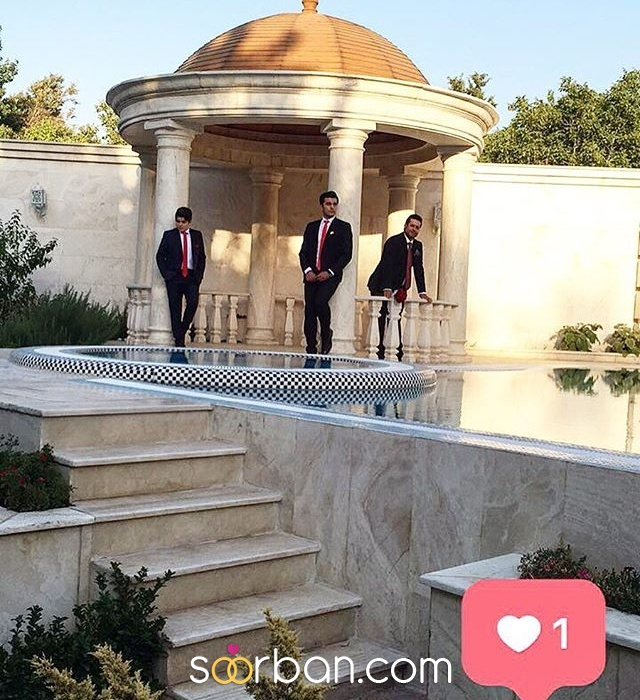 باغ عمارت نيل در غرب تهران3