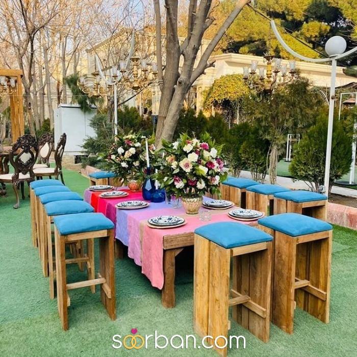 باغ تالار سعادت تهران5