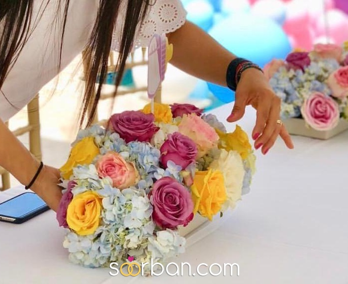 گل آرایی عروسی و دسته گل عروس در تهران و کرج9