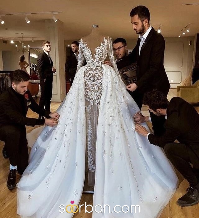 مزون لباس عروس مدینه تهران3