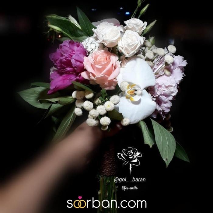 انواع دسته گل عروس خرم اباد1