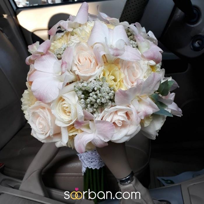 انواع دسته گل عروس خرم اباد3
