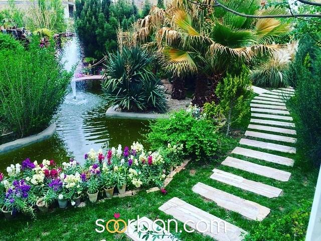 باغ عمارت گل خورشيدي يزد4
