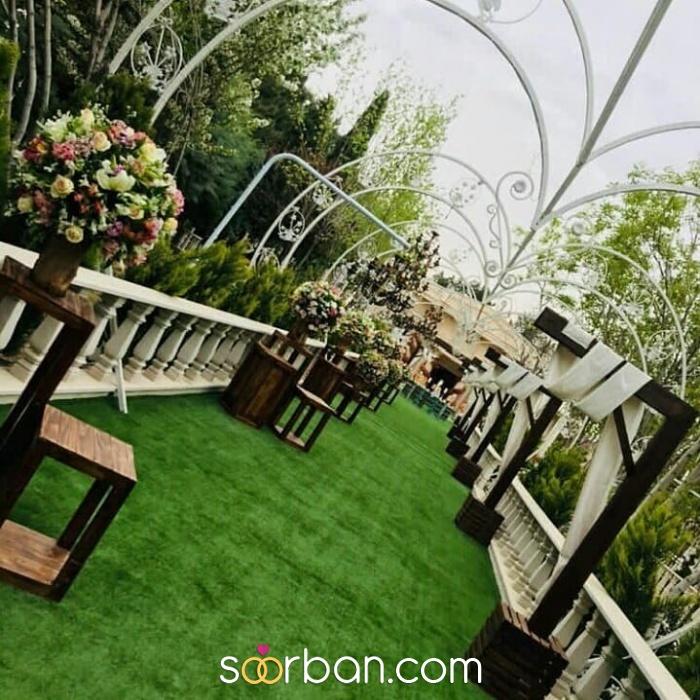 باغ عمارت سنا در غرب تهران1