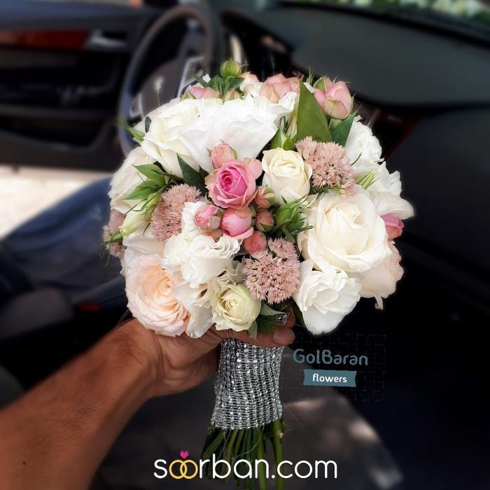 انواع دسته گل عروس خرم اباد12