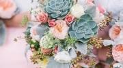 دسته گل عروس 2019 با انواع تزئینات جذاب و خاص