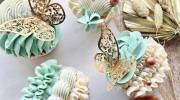 تزیین کاپ کیک 2021 | مدل های متنوع کاپ کیک برای انواع مراسم ها و مهمانی ها دورهمی