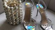 مدل کفش عروس مرواریدی 2021 | مدل کفش عروس جواهرنشان 1400 | ژورنال کفش عروس 2021