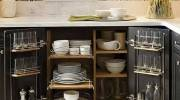 ایده کابینت های جادار | کابینت جادار برای آشپزخانه کوچک