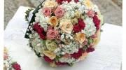 دسته گل عروس اروپایی 2022 | انواع دسته گل عروس اروپایی جدید