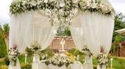 مدل دیزاین جشن داخل باغ 2022 | دیزاین باغ برای عروسی