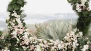 مدل گل ارایی جایگاه عروس 2022 | تزیین جایگاه عروس و داماد با گل