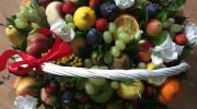تزیین سبد میوه های زمستانی و تابستانی