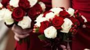 انواع دسته گل عروس رز قرمز رومانتیک و عاشقانه