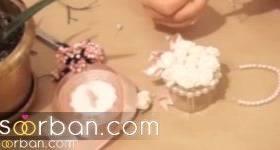 آموزش ساخت گیفت عروسی زیبا قدم به قدم