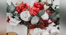 50 عکس از لاکچری ترین مدلهای دسته گل عروس ویژه سال 2021