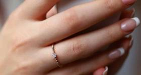 انگشتر نشون 2021 | چندیدنمدل حلقه نشان جدید 1400 مخصوص عروس خانم های باکلاس