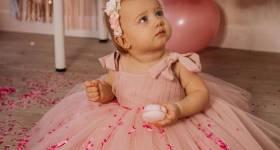 لباس مجلسی پفی بچه گانه 1400 | عکس از لباس پرنسسی بچه گانه جدید بسیار شیک و ناز