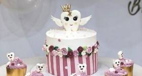 مدل کیک جشن دندونی دخترانه 2021 | کیک جشن دندونی 1400 | کیک دندونی 2021