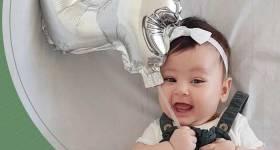 ایده عکس ماهگرد 2021 | ایده عکس ماهگرد نوزاد در منزل