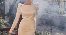 لباس عقد ساده و شیک 2021 | لباس عقد ساده و شیک رنگی