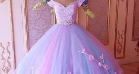 لباس عروس پفی و شیک دخترانه