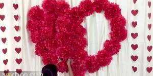 آموزش تزیین سالگرد ازدواج و ولنتاین با ایده دلبرانه