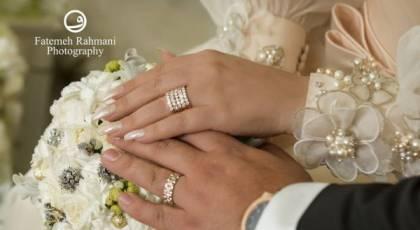 الهام حمیدی ازدواج کرد+اولین تصاویر عروسی