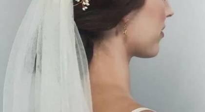 شینیون عروس | 30 مدل شینیون ساده و شیک برای عروس های خاص پسند
