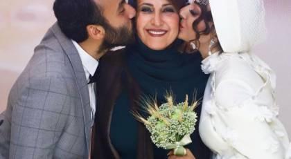 عروس فاطمه گودرزی کیست؟ + عکس های خانوادگی عروسی پسرش