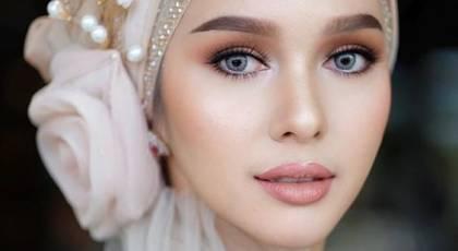 توربان عروس | 40 مدل توربان عروس شیک با ساتن، گیپور و مروارید