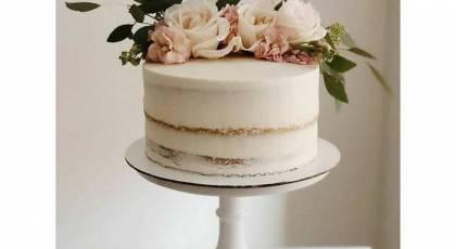 جدیدترین مدلهای کیک بدون روکش نامزدی و عروسی