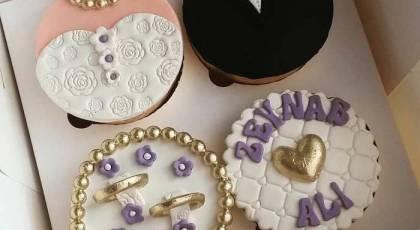 گالری دیدنی از مدلهای مینی کیک و کاپ کیک عروسی و نامزدی