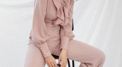 مدل بلوز شلوار گشاد مجلسی زنانه 2021 | مدل شلوار دامنی با بلوز 1400 | مدل دامن شلواری جدید