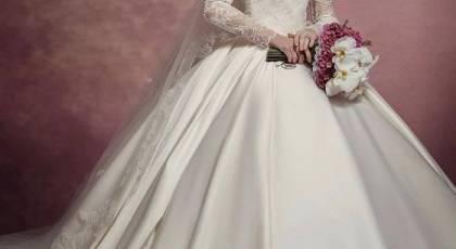 لباس عروس باحجاب 2021   لباس عروس محجبه ایرانی