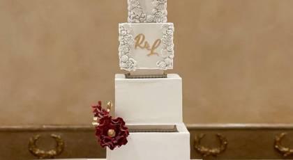 کیک عقد لاکچری 2021 | مجلل ترین کیک های عروسی