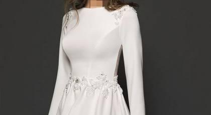 لباس عروس ساده ولی شیک 2021