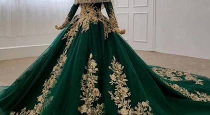 لباس نامزدی پرنسسی 2022 | مدل لباس نامزدی لاکچری