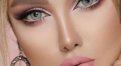 مدل آرایش چشم عروس 2022 |  آرایش چشم عروس جدید