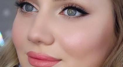 مدل آرایش صورت دخترانه 2022 | مدل آرایش صورت دخترانه ملایم