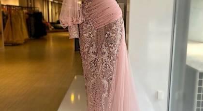 مدل لباس مجلسی بلند 2022 | لباس بسیار شیک مجلسی بلند ۱۴۰۰ کارشده