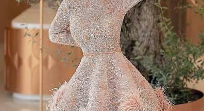 مدل لباس مجلسی دخترانه کوتاه 2022 | لباس کوتاه مجلسی دو تیکه
