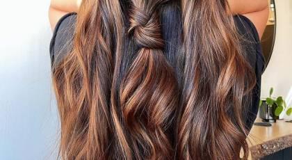 رنگ مو بدون دکلره جدید | رنگ مو بدون دکلره روشن