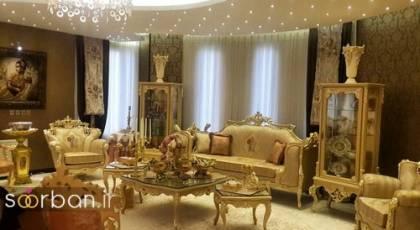جهیزیه عروس چیدمان پذیرایی و مهمانخانه