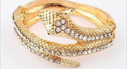 مدل بازوبند طلا عروس شیک 2018 + تصاویر