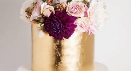 27 کیک عروسی درخشان و مدرن